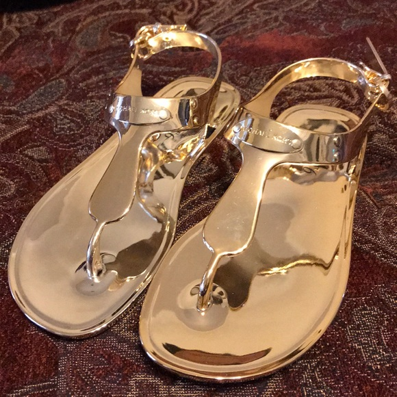 531af1ecaed MICHAEL Michael Kors MK plate jelly sandal